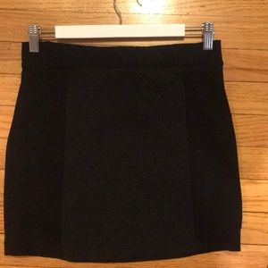 AE Black Mini Skirt